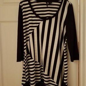 3/4 sleeves tunic